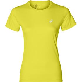 asics Silver - Camiseta Running Mujer - amarillo